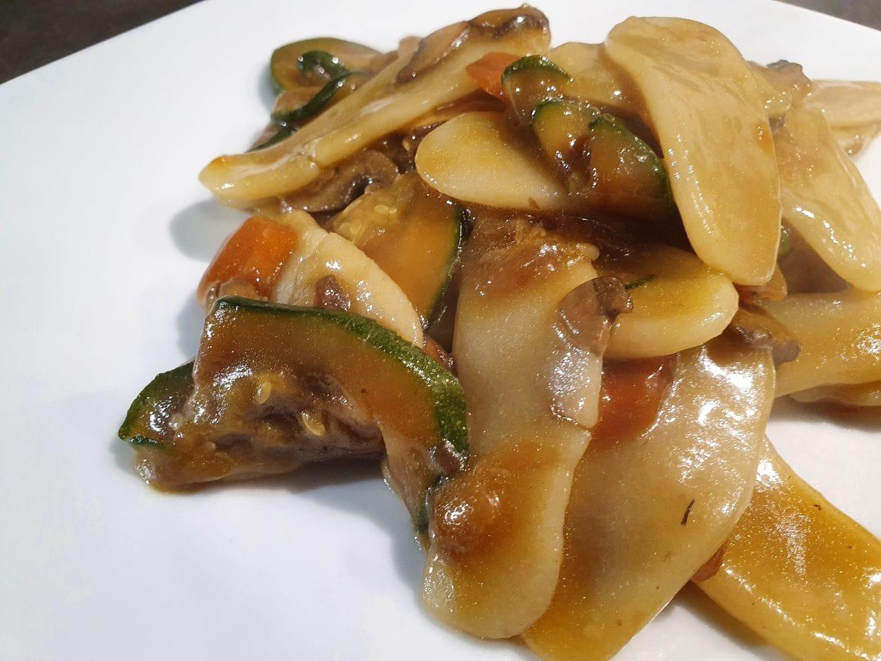 Ricetta Gnocchi Di Riso Cinesi.Gnocchi Di Riso Con Verdure Chef Viky
